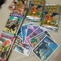 MAINAN TRADING CARD GAME KARAKTER KARTUN MAINAN EDUKASI