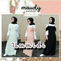 Jual Maudy overall / overall set / overall / dress Murah