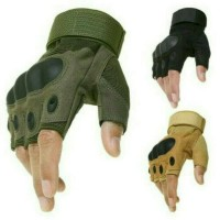 Jual Sarung Tangan Half Gloves Finger Half Outdoor Hiking Sepeda Motor Murah