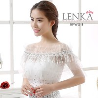 Bolero Lace Pesta Wedding Pengantin l Lenka - BPW011