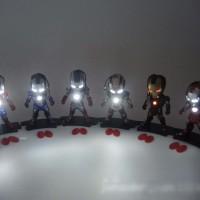Jual Iron Man Marvel Series (Light and Action Function) Murah