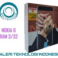 Android Nokia 6 RAM 3/32 Garansi Resmi - Silver