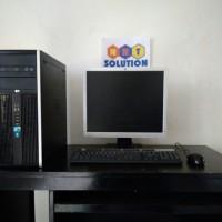 Jual Paket Komputer HP Compaq 8100 core i5||LCD 19'inch