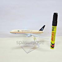Pajangan Miniatur Diecast Pesawat SAUDI ARABIAN