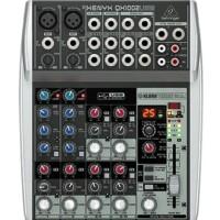Mixer Behringer XENYX QX 1002 USB ( 10 channel )