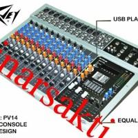 Mixer Peavey PV 14 USB ( 14 Channel )