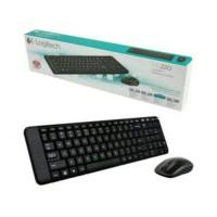 aksesoris / aksesories komputer Logitech Wireless Combo Keyboard +