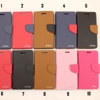 Diary Cover Dompet / Flipcover / Flipcase - Lenovo RocStar - A319
