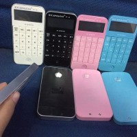 PROMO KALKULATOR MODEL IPHONE JP-40 CANDY WARNA RANDOM YA BOS