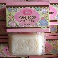 Jual Sabun Pemutih Kulit!! Jellys Pure Soap Berkhasiat!! ORIGINAL THAILAND Murah