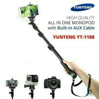 Premium Monopod Tongsis Yunteng Cable Original / Yunteng Kabel YT-1188