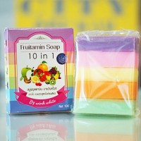 Jual FRUITAMIN SOAP 10 in 1 by WINK WHITE / Sabun Pemutih Badan Murah
