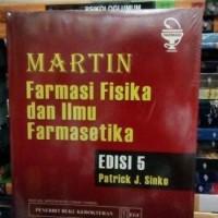 Farmasi Fisika Dan Ilmu Farmasetika Edisi 5 by Patrick J Sinko