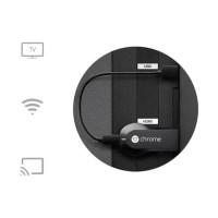 Google Chromecast HDMI Streaming Media Player TV Dongle Hitam New
