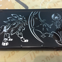 Jual NEW NINTENDO 3ds XL LIMITED EDITION POKEMON SOLGALEO LUNALA second  Murah