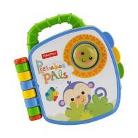 Fisher Price Infant Peek- A Boo! Book Mainan Anak