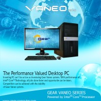 PC - Komputer - GEAR Vaneo I3645YH Series - Core i3