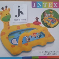 Intex Smiley Giraffe Baby Pool 57105 Kolam Renang Anak