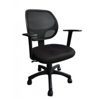 Kursi Kantor Chair Sefoure Staff Black Black