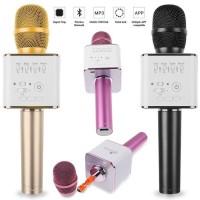 Jual Mic Q9 Mic Smule Karaoke Portble Buletooth Wireless Microphone Murah
