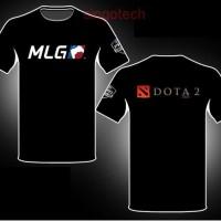 Kaos Baju Gaming TSHIRT DOTA2 MLG Terbaik