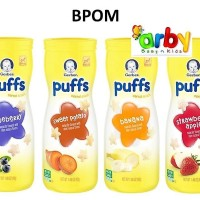 Gerber Graduates Puff Cereal Snack Bayi 4 Rasa (BPOM)
