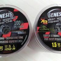 Senar Pancing Braided/PE (DURAKING genesis X8 #pe1 - pe1,5)