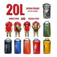 Jual Drybag / Dry Bag Nature 20L (Double Strap) Murah