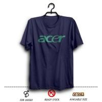 Kaos Distro ACER logo ( Laptop Notebook ) warna Biru Dongker wfcloth