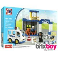 Jual Lego Duplo Anak-anak Police Station 188-113 36pcs Brixboy Murah