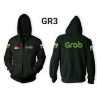 Jaket GRAB BIKE Sweater Hoodie Premium