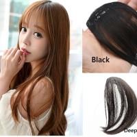 Jual Thin Straigh Hair Clip Bangs Fake Poni Tipis Rambut Palsu Murah