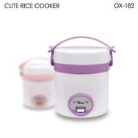 TERBARU     OXONE Cute Rice Cooker 0.3 Liter OX-182 - Ungu / Pink