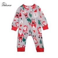 Jual jumper import murah bayi motif santa klaus merah lucu Murah