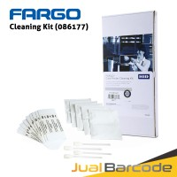 CLEANING KIT ID CARD PRINTER FARGO DTC1250E DTC1000 ( PN : 086177 )