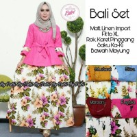 Bali set muslim by putri fashion hijab