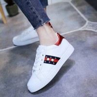 Sepatu Wanita Kets Casual Leona Sds224 Putih