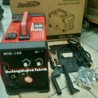 Mesin las MIG 160A co2 REDBO /Mini inverter welding Mig 160 A 200 A