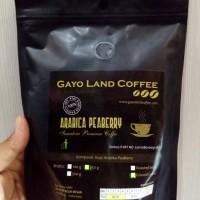Jual bubuk kopi gayo land coffee arabika peaberry asli aceh Murah