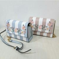 30603828b4a Harga tas selempang aldo mini floral embroidery strip sling bag