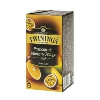 Twinings Black Tea with Passion fruit, Mango & Orange Sachet 25s Teh