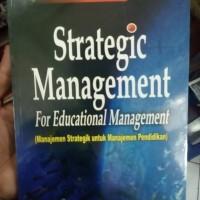 strategic management for educational manajemen strategik untuk - akdon