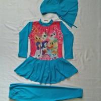 Jual baju renang anak muslimah littlepony Murah