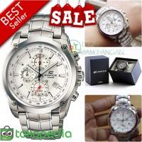 Jual jam tangan pria casio edifice 524 / EF524 + All Chorono aktif + Box Murah