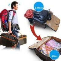 Ecer Medium Size Vacuum Compressed Package/ Vakum press plastik travel