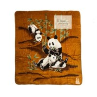 selimut cardinal jumbo motif panda 220x240
