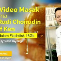 Rasa Sayange - 200++ Flashdisk 16Gb Video Masak Chef Rudi & Chef Ken