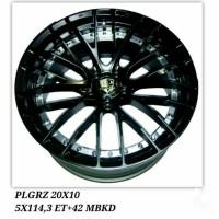 Velg Racing Mobil Honda CRV HRV BRV PLG-RZ MBKD Baru Murah / 07309