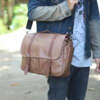 Jual Manic Panic! Messenger Bag / Tas Kulit / Tas Selempang Laptop Murah