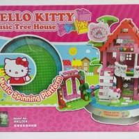 MAINAN LEGO BRICK HELLO KITTY TREE HOUSE MERK SANRIO Lc